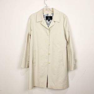 London Fog Trench Coat Size Medium